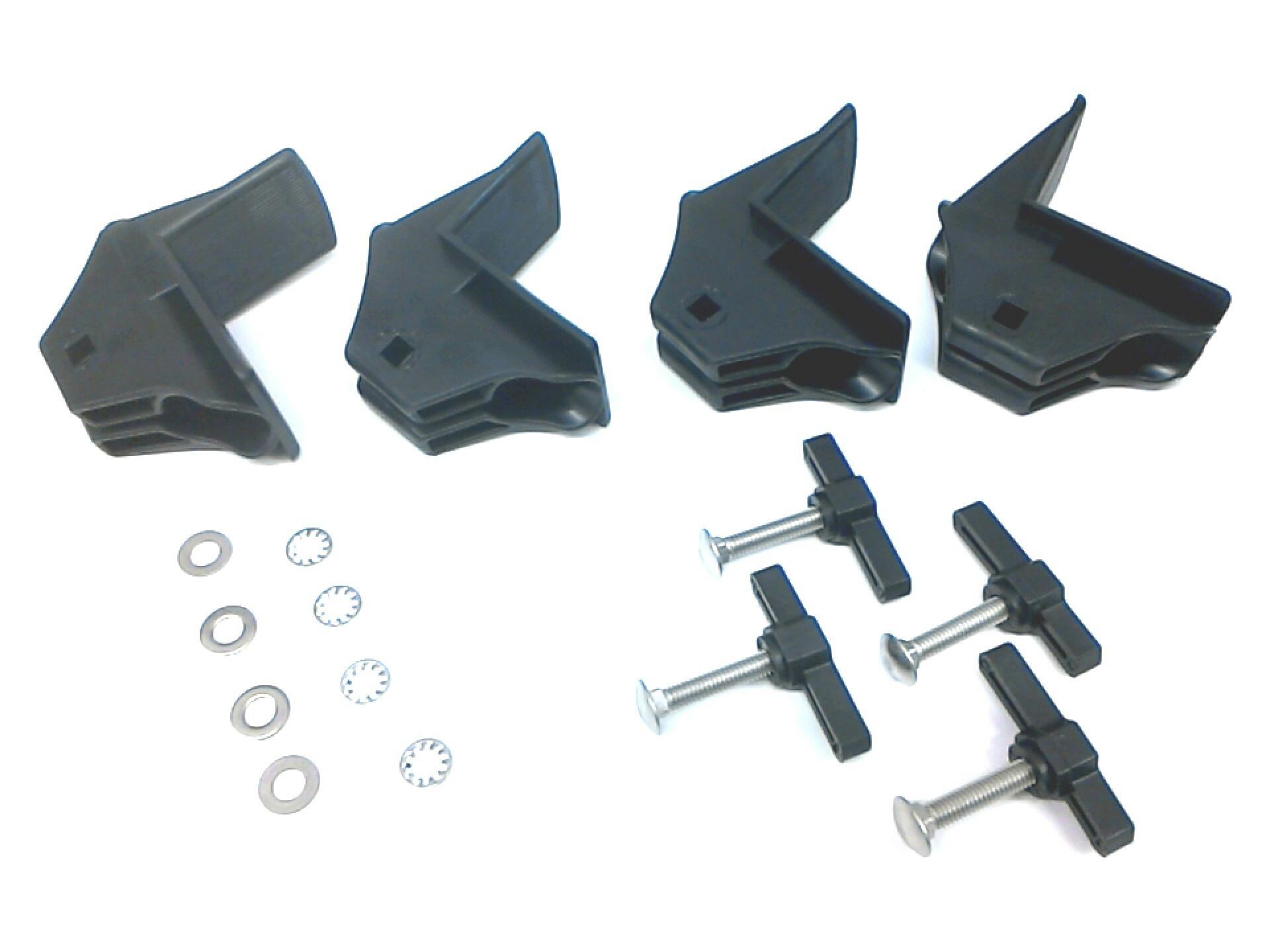 E3610AS450 - Subaru Stabilizing Brackets (4) - Round Cross Bars. Lifestyle, Exterior | West ...